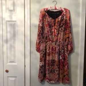 NWOT boho floral dress